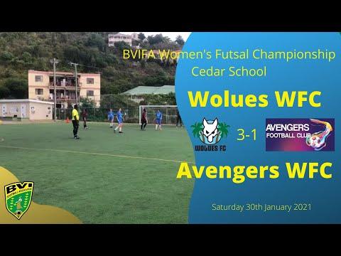 FA Women's Futsal League, Wolues FC 3-1 Avengers FC