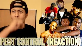 THE GAME - PEST CONTROL (MEEK MILL DISS) (REACTION)(Let's get to 50000 subscribers!!! Listen to this Review and Reaction on the new track from THE GAME