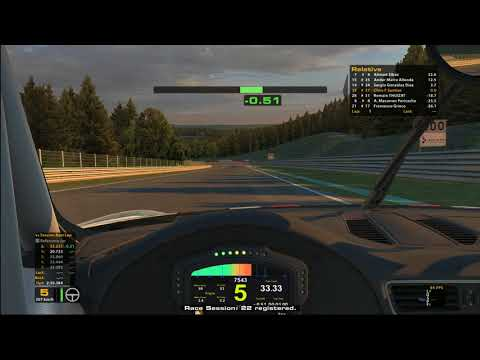 iRacing - Porsche Cup - Spa - S3/W10