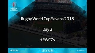 Rugby World Cup Sevens Day 2