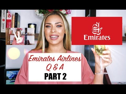 EMIRATES AIRLINE CABIN CREW Q&A PART 2 ft. Crazy Thai lady story