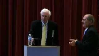 Irish Ambassador Michael Collins speaks at UNC Sept. 2012