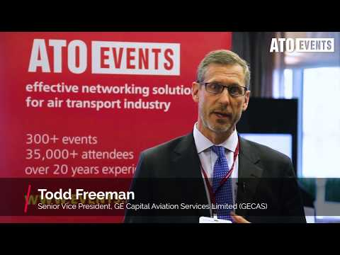 Todd Freeman, GECAS at Aircraft Finance and Lease Russia & CIS – 2017
