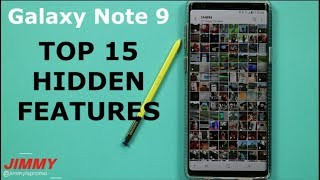 Galaxy Note 9 TOP 15 HIDDEN FEATURES (Tips & Tricks)