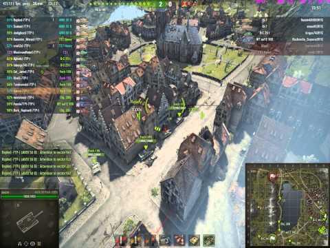 World of Tanks -7TP- vs RFX (Lakeville, 7.02.2014, lądowanie)