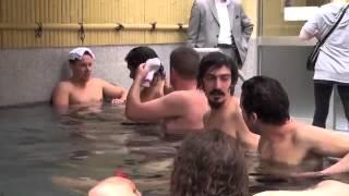 cách tắm tại phòng tắm công cộng ở Nhật bản