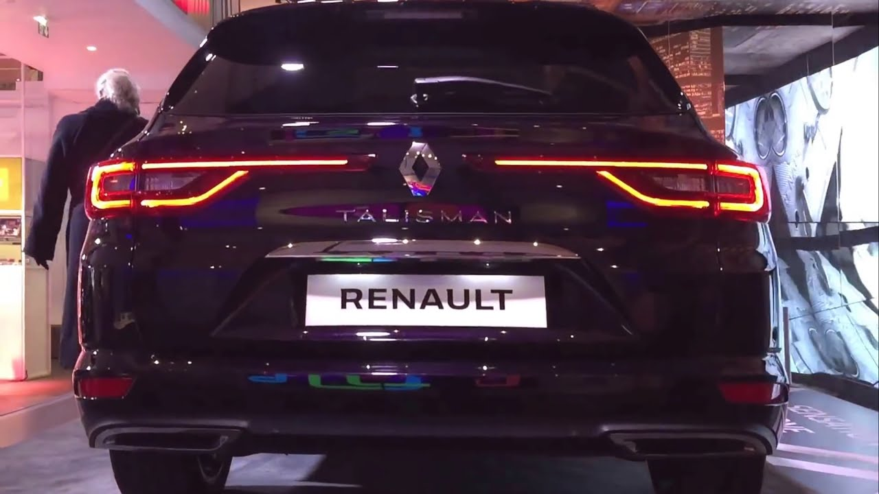 renault talisman initiale paris estate 2017 youtube. Black Bedroom Furniture Sets. Home Design Ideas