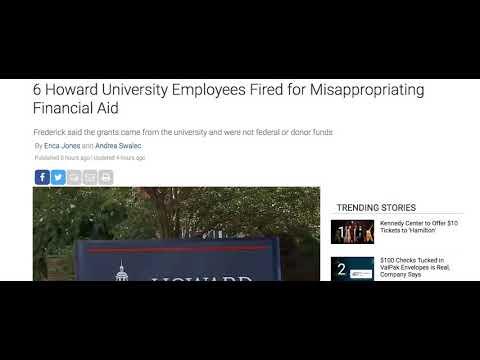 Howard University Embezzlement Scandal