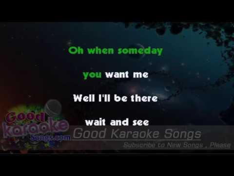 Maybe Baby -  Buddy holly (Lyrics Karaoke) [ goodkaraokesongs.com ]