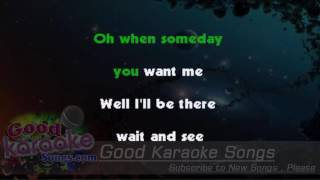 Maybe Baby - Buddy holly (Lyrics Karaoke) [ goodkaraokesongs.com ]