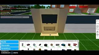 How To Put A Tv On A Fireplace In Bloxburg