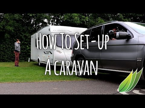 How To Set A Caravan Up On Site