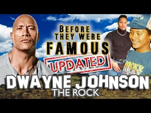 DWAYNE JOHNSON - Before They Were Famous - THE ROCK BIOGRAPHY