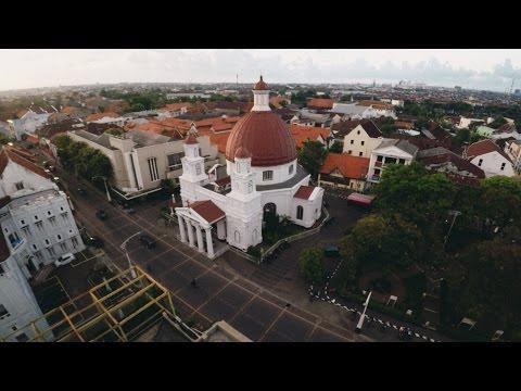 SEMARANG ( Aerial Video )