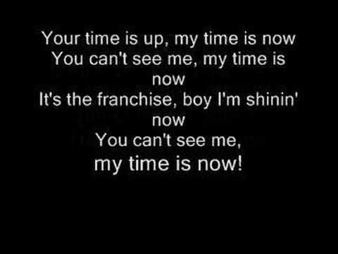 John Cena Theme The Time is Now lyrics