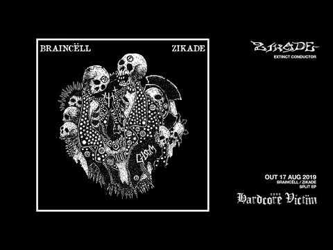 "ZIKADE ""EXTINCT CONDUCTOR"" split w/ Braincell"