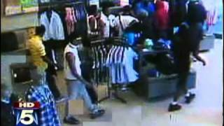 Youth Mob Robs Store in DC Metro Area