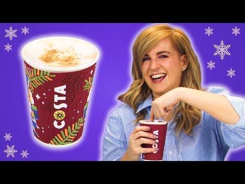 Irish People Try Costa Christmas Coffee