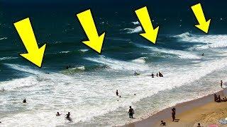 5%の人のみが存在を知る死の海流:離岸流