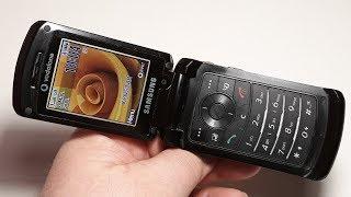 Samsung Z540V. Ретро телефон из Германии. Редкая модель телефона. Капсула времени