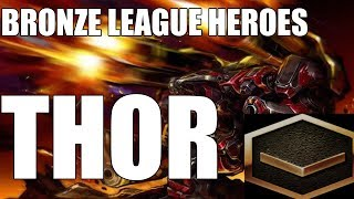 BRONZE LEAGUE HEROES #105 - THOR IS HERE Vol. 2 - Fantasy v Silhouette