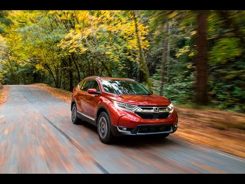 2017 Honda CR V Touring AWD First Test Drive Off Road [ Part 1 of 2 ]