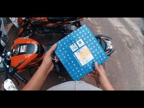 Ns 160  - Bike Servicing Vlog - Air Filter Change -  Asm Asif