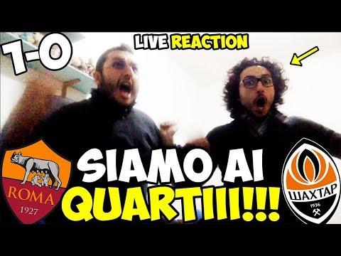 Dzeko! DZEKO!! DZE-KOOOOO!!!!! Roma-Shakhtar Donetsk 1-0 [LIVE REACTION]