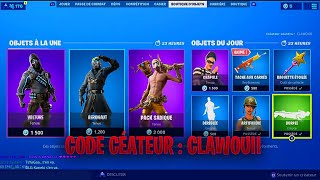 BOUTIQUE FORTNITE DU 11 SEPTEMBRE 2019 - FORTNITE ITEM SHOP 11 SEPTEMBRE 2019 - NOUVEAU PACK