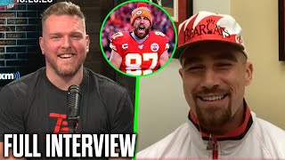 Pat McAfee & Travis Kelce Talk Chiefs Offense, National Tight End Day, And Expensive Outfits