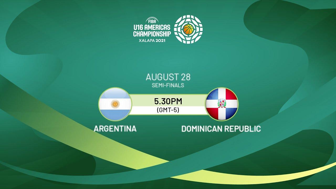 Download SEMI-FINALS: Argentina v Dominican Republic | Full Game - FIBA U16 Americas Championship 2021
