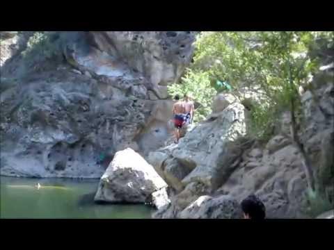 Cliff Jumping Malibu State Park