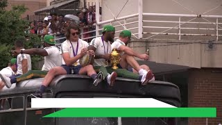 Springboks' victory parade after winning the Rugby World Cup