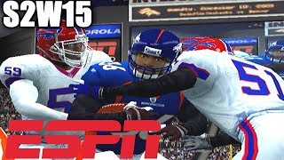 A WILD FOOTBALL GAME - ESPN NFL 2K5 BILLS FRANCHISE VS BRONCOS S2W15