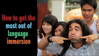Immersion Language Learning Tips [FULL VERSION]