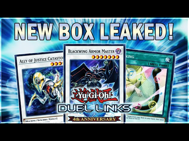 HUGE LEAKS! NEW BOX! The King of Vermilion! TUNING! RESONATORS! & SYNCHROS! | Yu-Gi-Oh! Duel Links