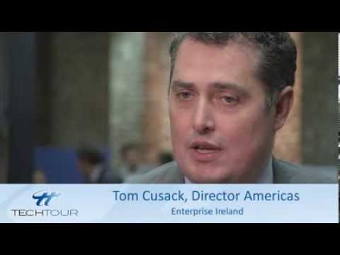 UK & Ireland Tech Tour Interview with Tom Cusack, Enterprise Ireland
