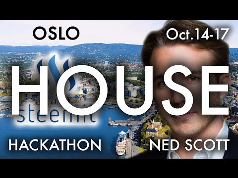 Oslo Steemit Hackathon: Day 2 (House Camera)