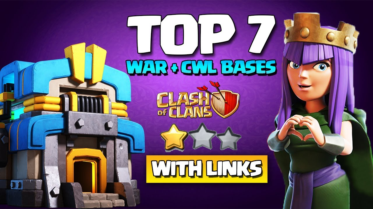 Download NEW TH12 WAR BASE + LINK - TH12 CWL BASE | NEW TOP 7 BEST TH12 WAR BASE DESIGN | CLASH OF CLANS COC