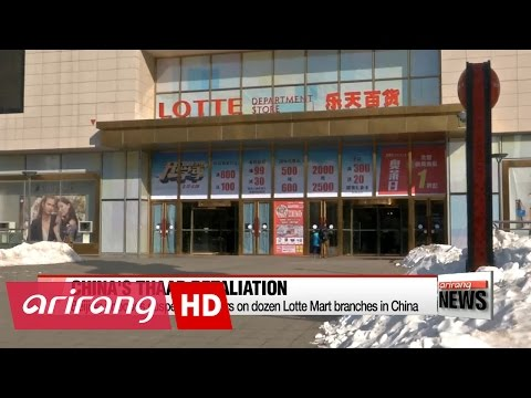 Beijing imposes suspension orders on Lotte stores