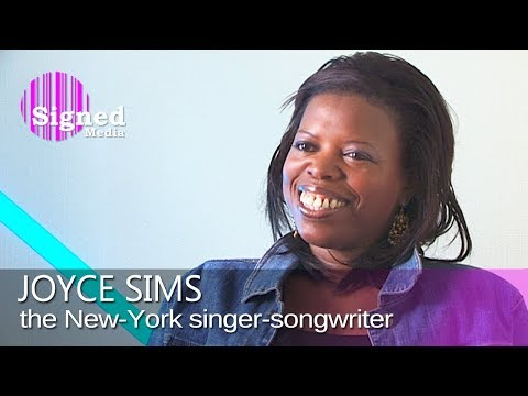 Joyce Sims - Interview with the New York singer-songwriter (2009)