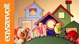Kiskalász Zenekar: Hepehupa (báb animáció, dal)