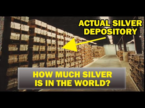 How Much Silver is in the World? 🌎🌍🌏