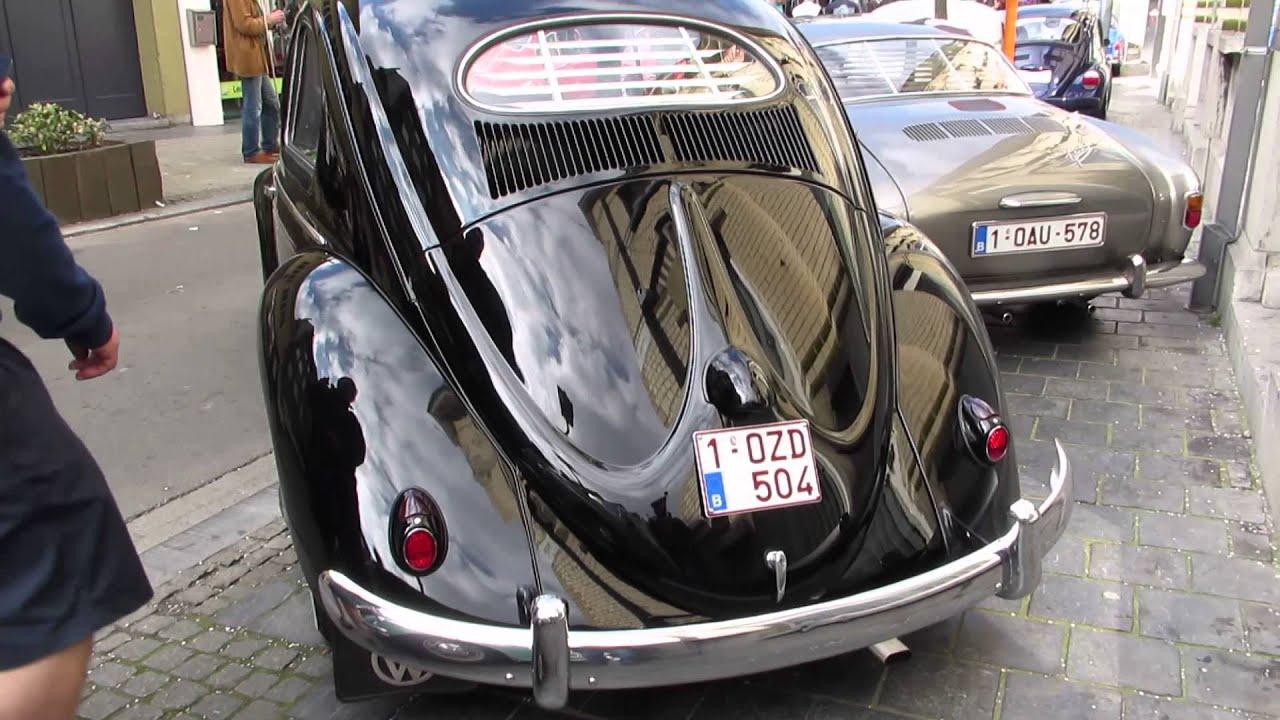 Vw Beetle Oval Black Ninove Freddy Files 2014 Youtube