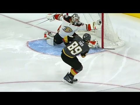Gotta See It: Ducks' Gibson with glove save of the season on Golden Knights' Tuch