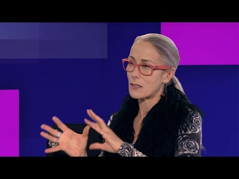 Fashion activist Caryn Franklin: I'm glad to be grey