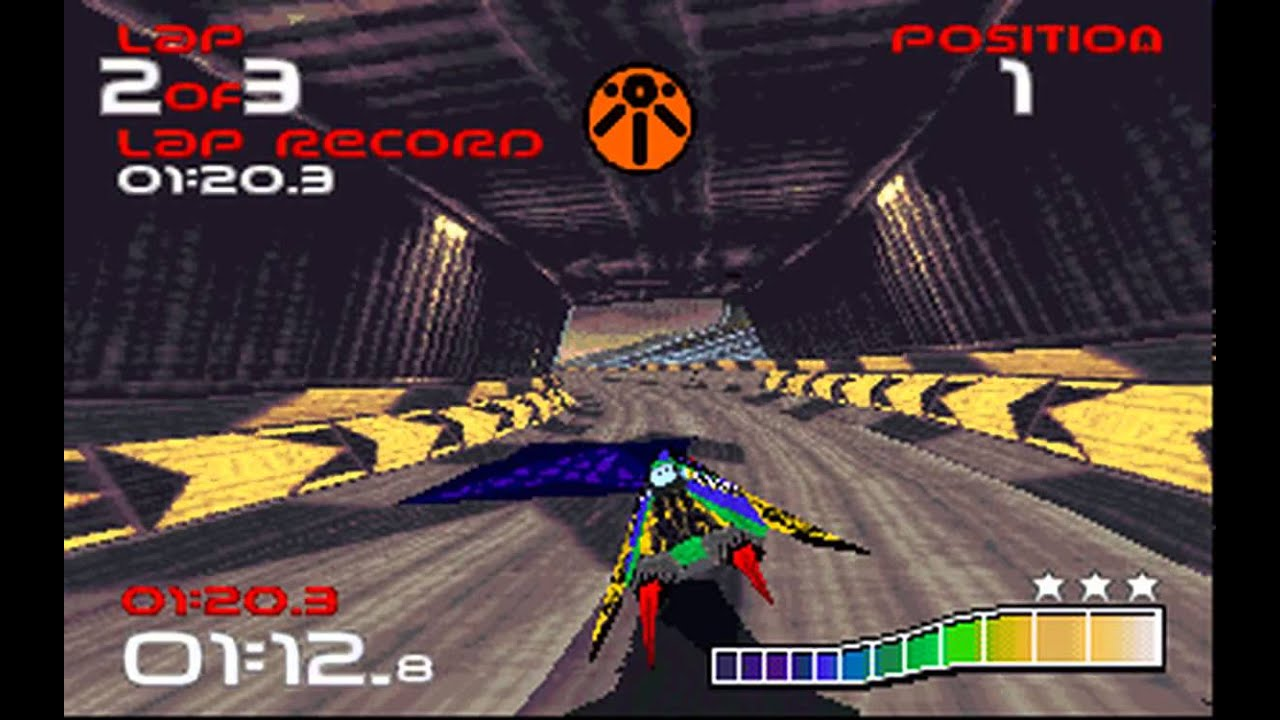 DOS Game: WipEout - YouTube