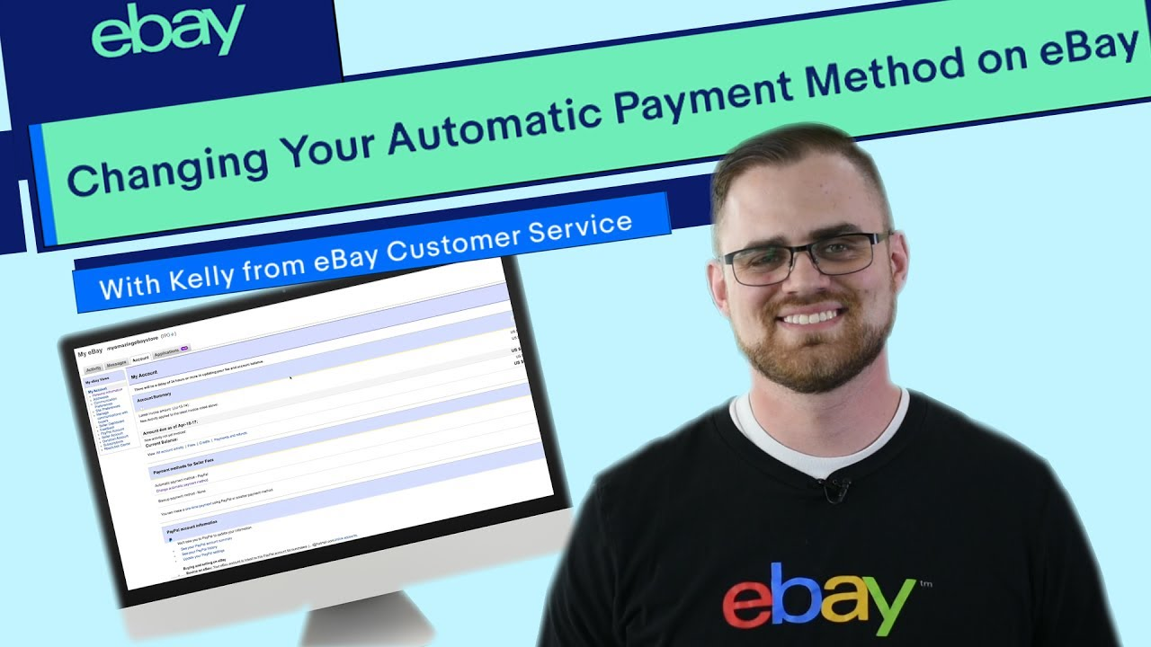 Ebay How To Change Your Automatic Payment Method Youtube
