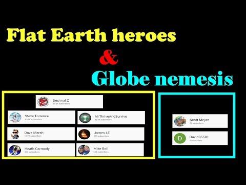 Flat Earth heroes & Globe nemesis thumbnail