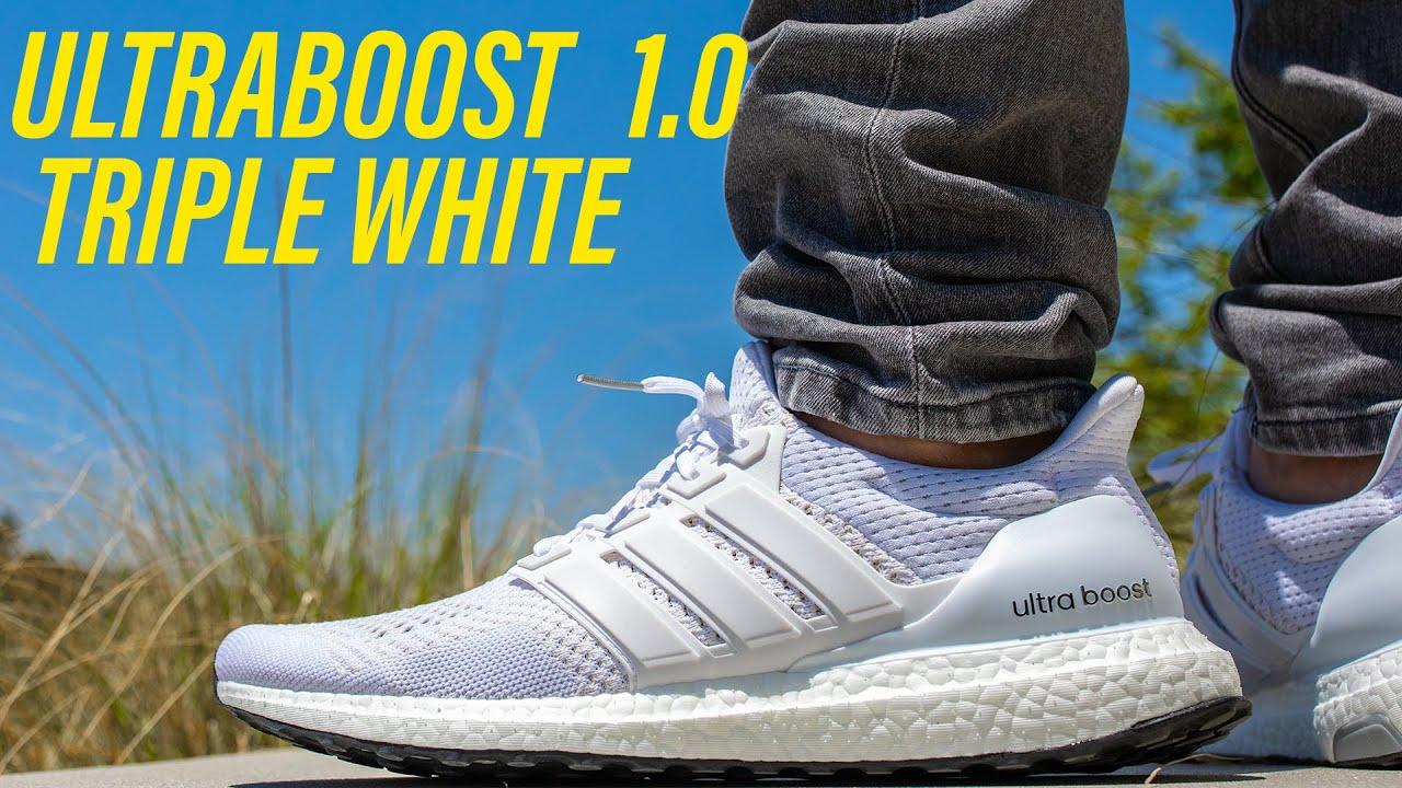 WATCH BEFORE YOU BUY! Ultraboost 1.0 Triple White